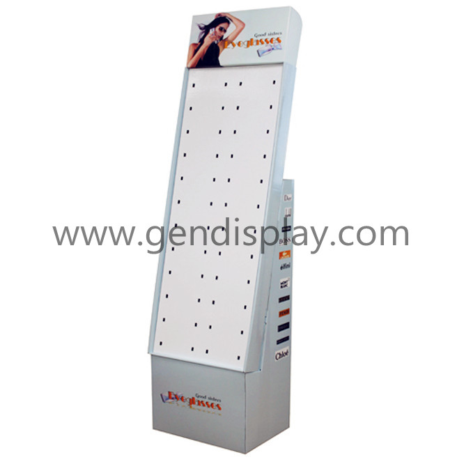 Cardboard Sunglasses Hooks Display Stand (GEN-HD039)