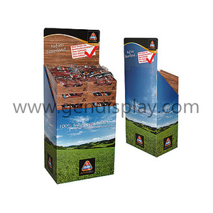 Custom Drinks Bins Display, Cardboard Beverage Display Stand(GEN-DB036)