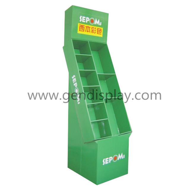 Custom Cardboard Gift Display Stand For Supermarket (GEN-CP285)