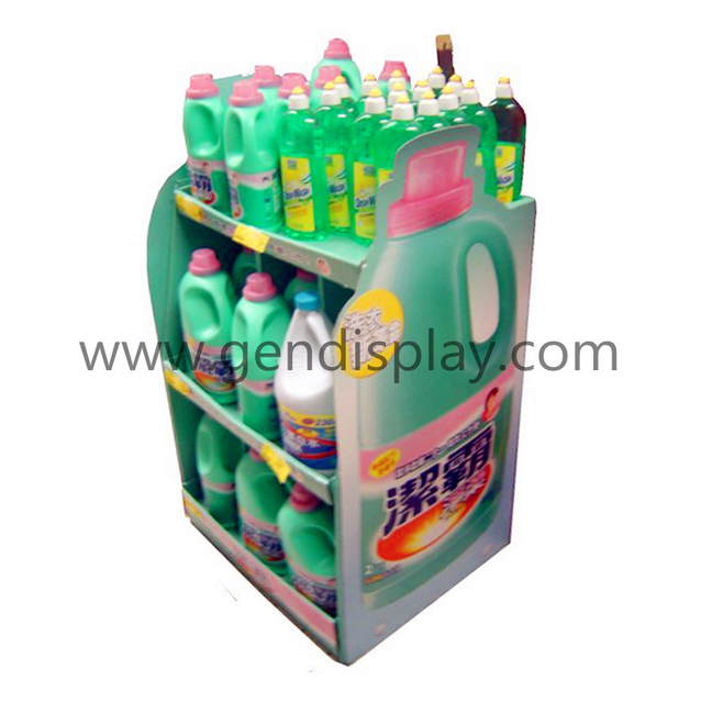Laundry Detergent Display,Pallet Display Shelf (GEN-PD028)
