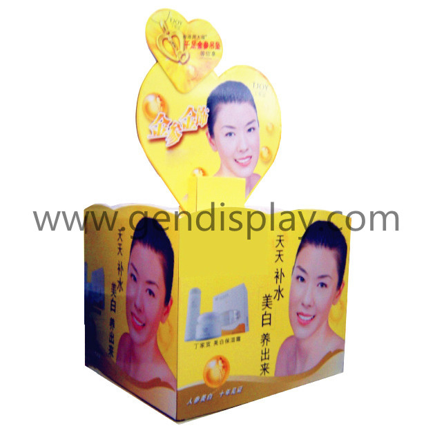 Paper Pallet Display, Pop Cosmetic Display (GEN-PD032)