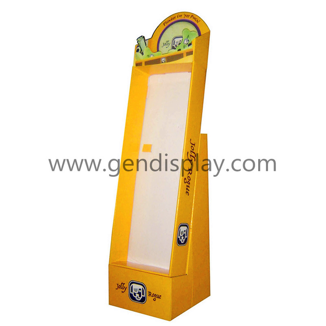 Retail Pos Cardboard Hooks Toys Display Unit(GEN-HD002)