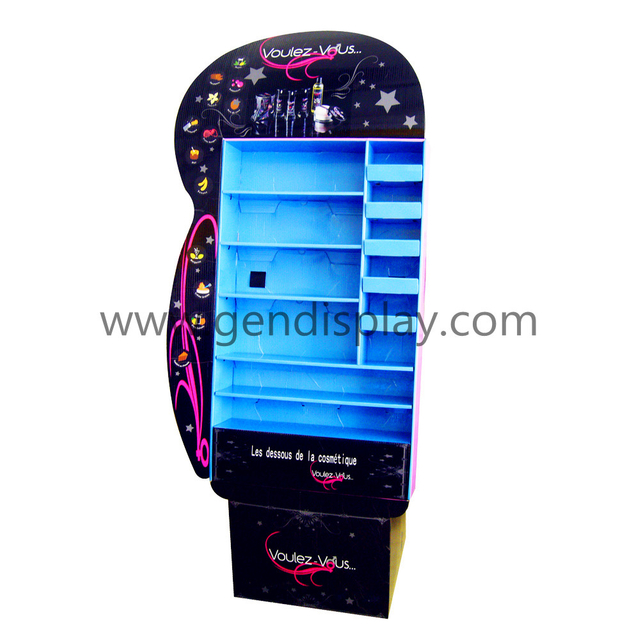 Cardboard Cosmetic Display,Pop Make Up Display (GEN-FD001)