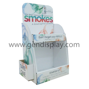 Pos E-cigarette Counter Display, Pos Counter Display Stand (GEN-CD208)