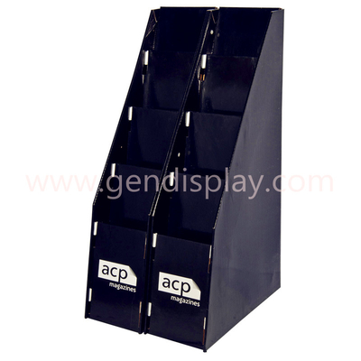 Cardboard Magazine Display Stand , Paper Books Display (GEN-FD056)
