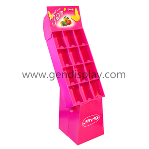 Promotional Cosmetics Cardboard Cells Display Unit, Compartment Display(GEN-CP071)