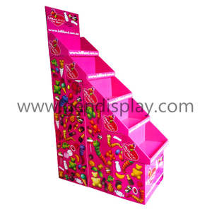 Cardboard Pallet Display Stand For Candy(GEN-PD046)