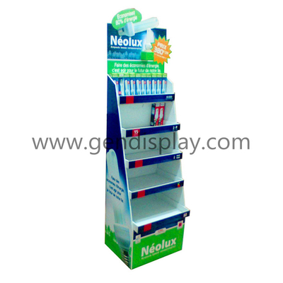 LED Cardboard Display, Custom Light Display Stand (GEN-FD123)