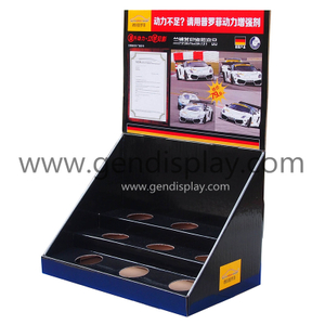 Customized Countertop Display, Paper Counter Display Box With Holes(GEN-CD179)