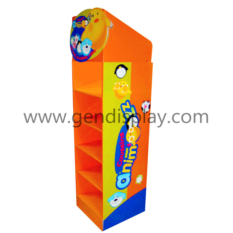 Promotion Toys Floor Display, Retail Toys Display Unit (GEN-FD033)