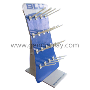 Cardboard Hooks Counter Display Stand(GEN-CD064)