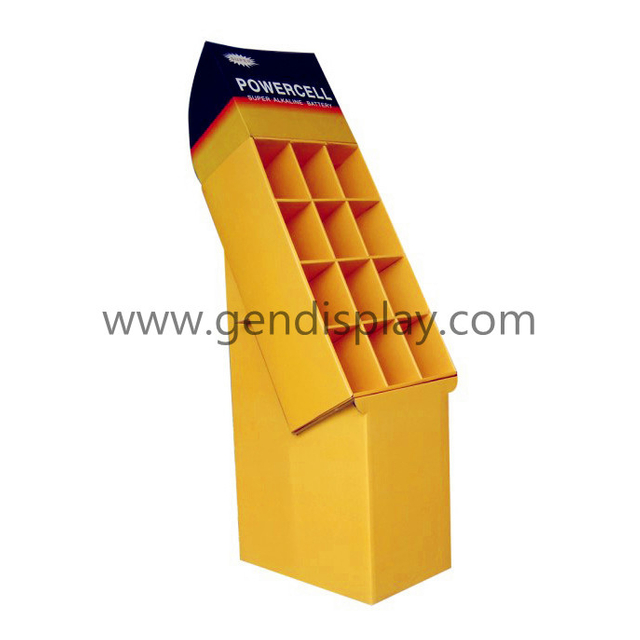Custom Compartments Display Stand For Supermarket (GEN-CP007)