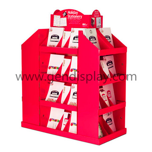 Cardboard Cosmetic Pallet Display ,Cusotm Pallet Display Shelf(GEN-PD019)