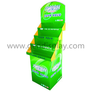 Supermarket Cardboard Toothpaste Display, Pop Toothpaste Display (GEN-FD325)