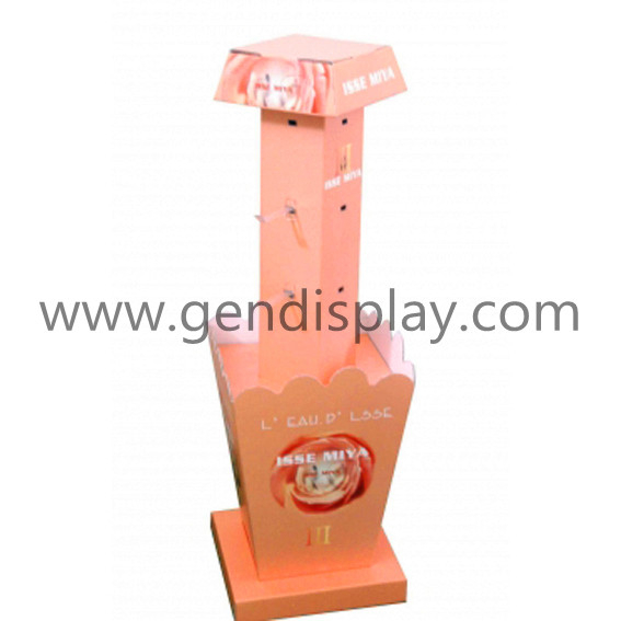 Custom Pos Gift Cardboard Hooks Display Unit (GEN-HD030)