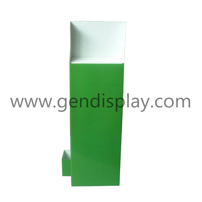 Promotional Cardboard E-Cig Counter Display Stand With Hooks(GEN-CD071)