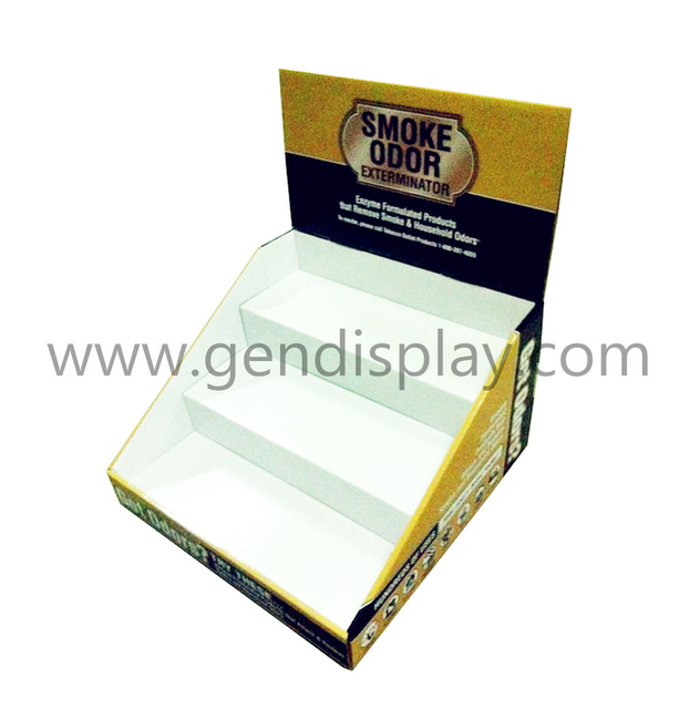 Promotional Cardboard Counter Display Box With Full Printing(GEN-CD061)