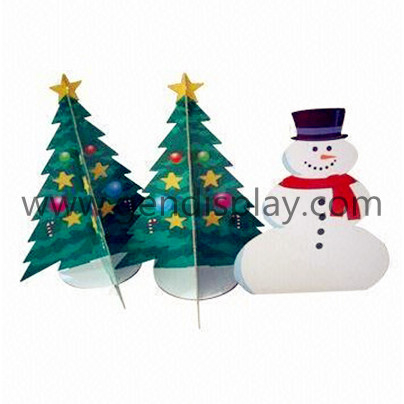 Cardboard Pos Custom Christmas Standee Display(GEN-SD034)