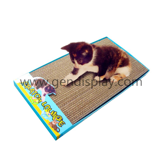 Promotional Pop Corrugated Cat Scratcher (GEN-CS004)