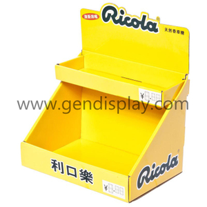 Cardboard Chutty Counter Display, Custom Candy Counter Display (GEN-CD016)
