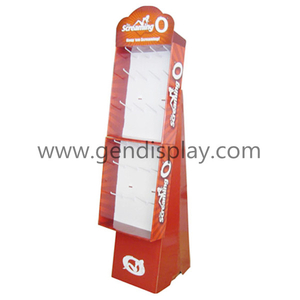 Supermarket Cardboard Hooks Display Stand, Toys Hooks Display (GEN-HD064)