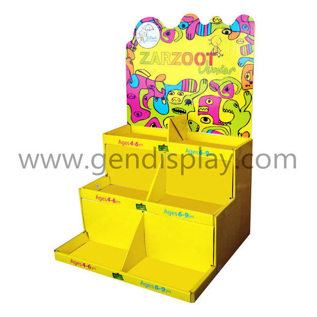 Custom Cardboard Toys Counter Display Stand(GEN-CD041)