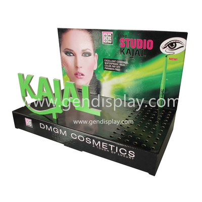 Pos Cardboard Cosmetic Counter Display Unit, Eyeline Counter Display (GEN-CD229)