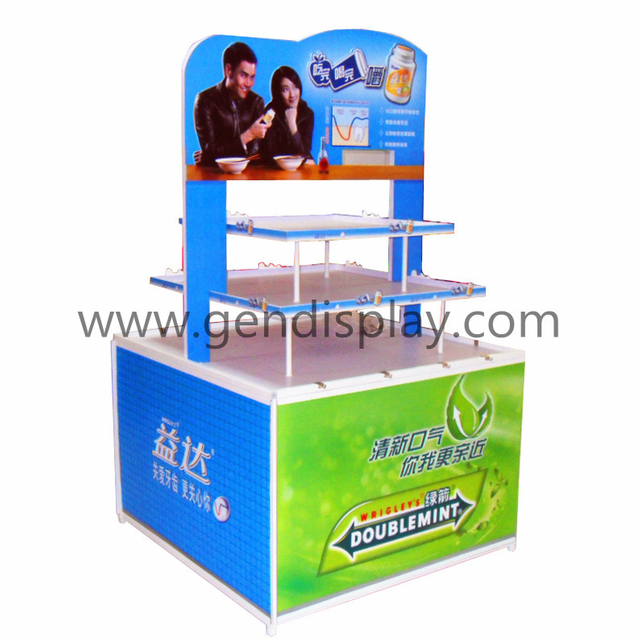 Pop Pallet Display Stand ,Cardboard Pallet Display(GEN-PD049)