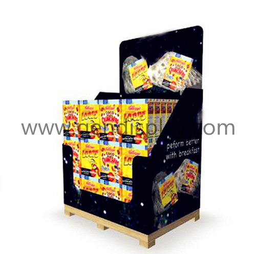 Food Pallet Display Stand, Snack Pallet Display (GEN-PD024)