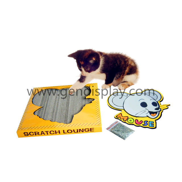 Cardboard Paper Cat Scratcher Board (GEN-CS015)