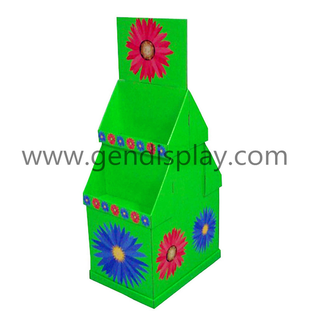 Custom Floor Gift Display, Cardboard Gift Display (GEN-FD035)