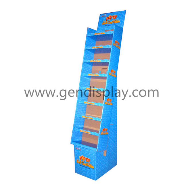Pos Cardboard Toys Display Shelf, Retail Toys Display Stand (GEN-FD032)