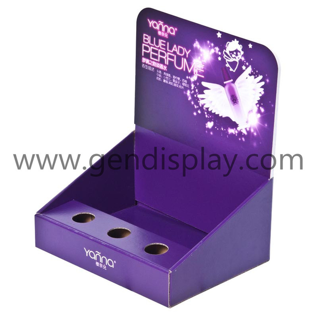 Pos Cardboard Perfume Counter Display Box (GEN-CD080)
